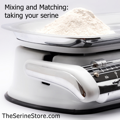Mixing and Matching – taking your serine